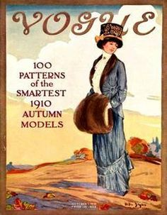 Vogue USA cover  - October 1910