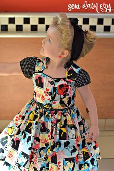 PDF PATTERN & TUTORIAL for making the Billie Party Dress.