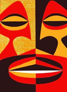 MID-CENTURIA : Art, Design and Decor from the Mid-Century and beyond: Stanley Stubenberg Hawaiian Illustration