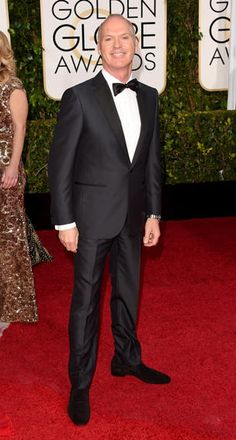 Golden Globes 2015 Red Carpet Arrivals   Michael Keaton ('Birdman')