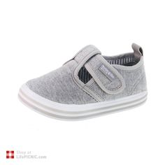 Baby's Canvas Casual Sandal · Grey · Beppi, €22.80
