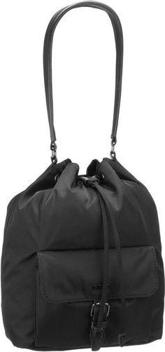 BREE Handtasche »Barcelona Nylon 15« für 119,95€. Bucket Bag, Nylon / Polyester, Geräumiges Hauptfach schließt mit Zugband, Verstärkter Boden bei OTTO