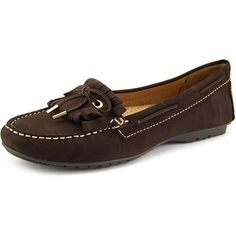 ca8aa0082024 Sebago Meriden Kiltie Women Moc Toe Leather Brown Loafer