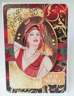 Kanban Crafts, Art Deco Cards, Cardmaking And Papercraft, Card Ideas, Festive, Card Making, Paper Crafts, Anime, Inspiration