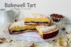 Bakewell tart ovvero la torta inglese alle mandorle per eccellenza una torta squisita davvero ottima con crema frangipane RIcetta bakewell tart