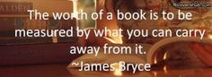 The Worth of a Book Quote Fb Cover