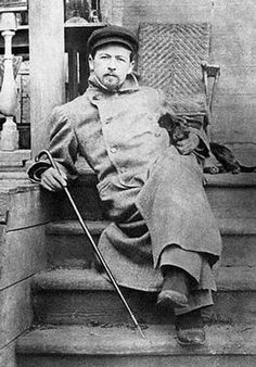 Anton Chekhov, 1897. If they decide to do a film based on his life, it should be an organic choice to choose Edward Nortan..they resemble and he can play European characters to the T!! Remember Jade said so!
