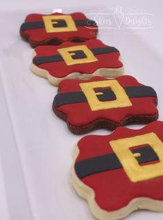 Christmas Sugar Cookies, Christmas Sweets, Holiday Cookies, Christmas Baking, Fancy Cookies, Iced Cookies, Custom Cookies, Cupcakes, Cupcake Cookies