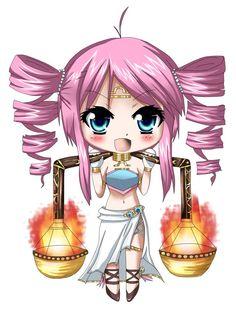 Animated chibi zodiac - Libra