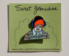 Freaks And Geeks Projet de loi HAVERCHUCK broche par sweetgrenadine