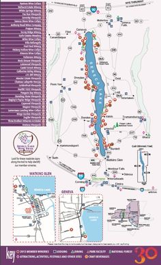 Seneca Lake Wine Trail (stop in watkins Glenn)