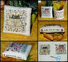 "Lovely heart things: Cross Stitch: ""Piggy creative ideas from Marie Paule"""
