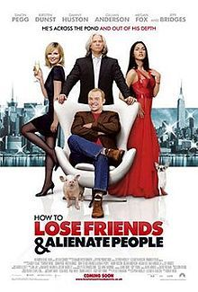 How to Lose Friends & Alienate People (film) - Wikipedia, the free encyclopedia