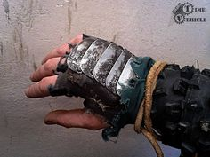 Wasteland warrior's glove by Tharrk.deviantart.com on @DeviantArt