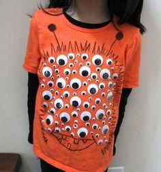 googly eye monster shirt!