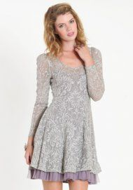Wear this dress casually with a pair of boots or dress it up with your favorite sandals! #GossipRI