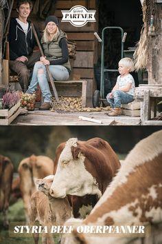 """Seit 1994 wird der Hof nach den Richtlinien des biologischen Landbaus bewirtschaftet. In dieser Zeit wurde auch mit der Vermarktung von """"Styria Beef"""" begonnen. #österreich #steiermark #gesäuse #gibtkraft Foto: Stefan Leitner"""