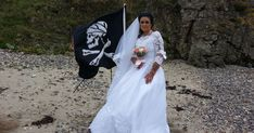 Amanda Teague, 45, has married a Haitian pirate named Jack who died in the 1700s, and the fact he's dead doesn't bother her