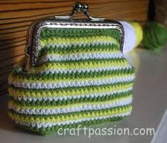 pattern for coin purse frame - Google Search