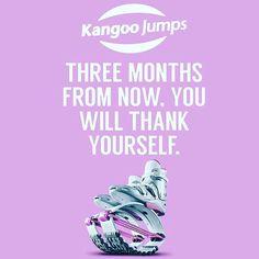 Three months is all it takes to #jump into a #newyou! #morethanabrand #KangooJumps #mondaymotivation #weightloss #lifestyle #kangoo #jumps #mondaymood