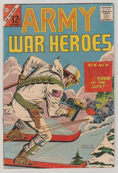 Army War Heroes Vol 1 10 Silver Age Comic by RubbersuitStudios #warcomics #silveragecomics #comicbooks