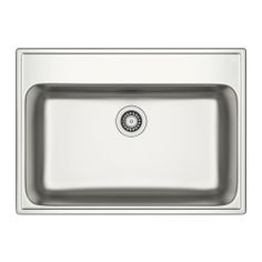 "BOHOLMEN Single-bowl inset sink IKEA 25-year Limited Warranty. Read about the terms in the Limited Warranty brochure.  29 7/8"" x 21 5/8"" $135"