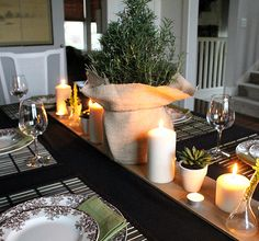 Thanksgiving Table I