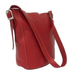 Shop for Piel Leather Bucket Bag. Get free delivery at Overstock.com - Your Online Handbags Outlet Store! Get 5% in rewards with Club O!