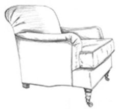 HF 767   Chair   Hallman Furniture