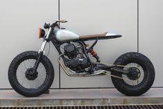 "Yamaha TW200:: ""The Bullet II\"