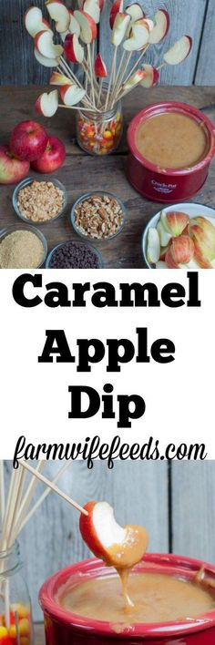 I'm a huge caramel apple fan but give me Caramel Apple Dip any day! The ratio of caramel to apple is much higher with dip and a lot less messy to eat! And bonus there is so many things you can dip them in each bite can be different! Dip Recipes, Apple Recipes, Fall Recipes, Crockpot Recipes, Snack Recipes, Dessert Recipes, Snacks, Apple Desserts, Keto Desserts