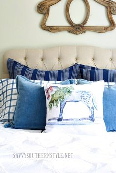 Savvy Southern Style: A French Style Christmas Bedroom
