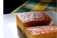 Εύκολο σιροπιαστό γλυκό ταψιού Ρεβανί Greek Recipes, Confectionery, Banana Bread, Cooking Recipes, Sweets, Food, Cakes, Good Stocking Stuffers, Eten
