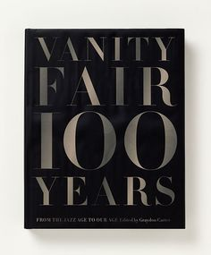 Cover of Vanity Fair 100 Years, the new commemorative book designed by Luke Hayman.
