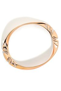Pastiche Amazonian Womens Rose Gold Bangle. Reveal your inner tribal spirit with this showstopping rose gold plated stainless steel cut out bangle, that will take you from day to night.