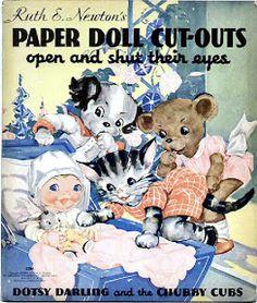 Paper Dolls~Chubby Cubs - Bonnie Jones - Picasa Web Albums