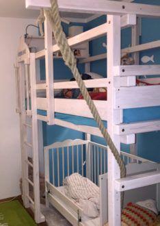 Das perfekte Kinderhochbett! Wir geben Empfehlungen zum günstigen Hochbett Online Kauf und Tipps zum individuellen Design! Bunk Beds, Furniture, Design, Home Decor, Tips, Decoration Home, Loft Beds, Room Decor