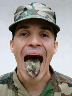 Adonis Flores Gives the Military an Artistic Aesthetic trendhunter.com