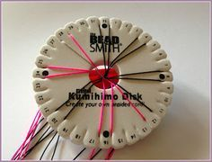 DIY Flower Kumihimo Bracelet Tutorial