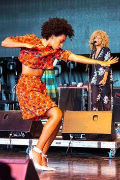 Solange Knowles, St Jerome's Laneway Festival 2013