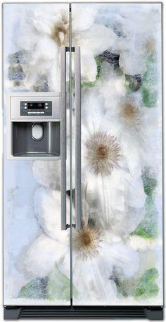 Beach Magnetic Top Freezer Refrigerator Covers Beach