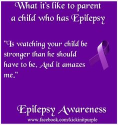 Please like and share. This is what it's like to parent a child who has Epilepsy… Rolandic Epilepsy, Epilepsy Symptoms, Epilepsy Facts, Epilepsy Awareness Month, Health Awareness Months, Autism Awareness, Kawasaki Disease, Seizure Disorder, Purple Ribbon
