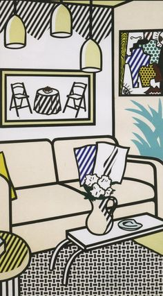 Roy Lichtenstein- My favorite artist of all time.