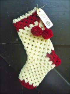 Granny Christmas Stocking PDF by royalsisters on Etsy