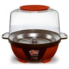 West Bend 82505 Stir Crazy Electric Hot Oil Popcorn Popper Machine with Stirring Rod Offers Large Lid for Serving Bowl and Convenient Storage, Red Specialty Appliances, Small Appliances, Kitchen Appliances, Kitchen Pantry, Kitchen Stuff, Kitchen Sink, Kitchen Dining, West Bend Stir Crazy, Best Popcorn Maker