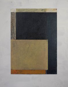 GERRY KEON: Artist - WINTER MIXTURE British artist (b.1942). Oilbar on paper on