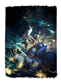 Warhammer 40000 - WH40K - Gloria Victis nasze miejsce w sieci › Forum Wh40k › Hobby i modelarstwo › Czarna Biblioteka › Arty