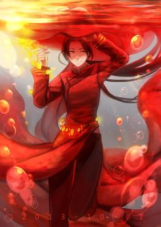 Axis Powers: Hetalia, China I love when countries under the water