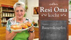 Resi Oma kocht - Traditionelle Bauernkrapfen - YouTube