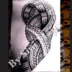 Design ready for the new year please do not copy #polynesian #tatau #tattoo #tattoodesign#samoan#tonga #tattoos #blackwork #lovetattoo #bysinimanu #hawaii #aloha #islanders #ink